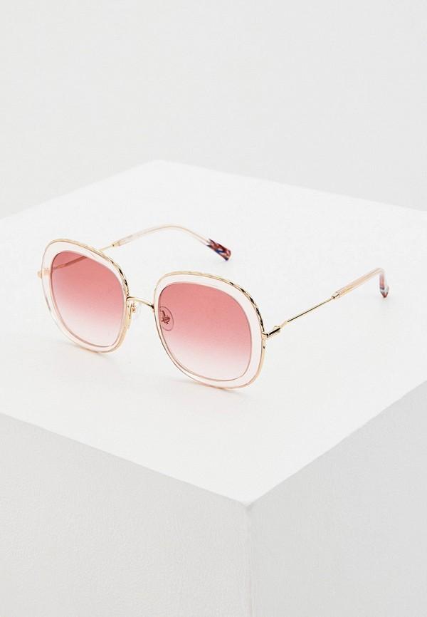 женские солнцезащитные очки missoni, золотые