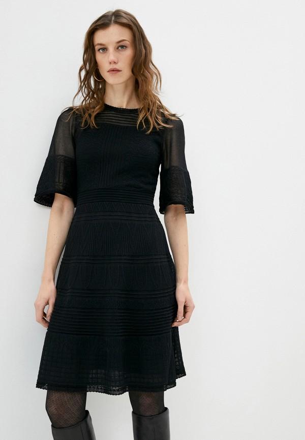 женское повседневные платье missoni, черное