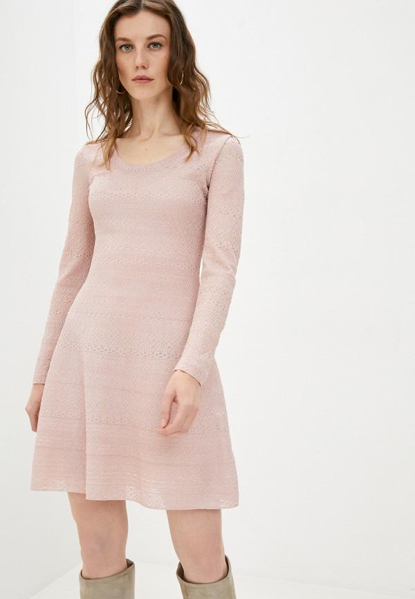 женское повседневные платье missoni, розовое