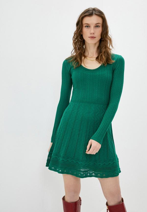 женское повседневные платье missoni, зеленое