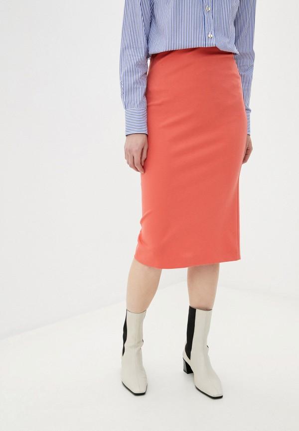 женская прямые юбка missoni, розовая