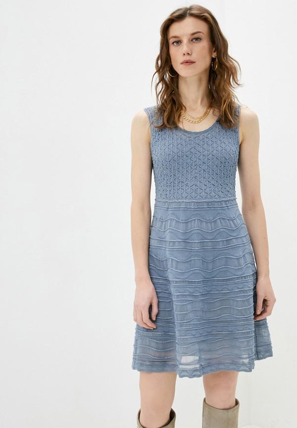 женское повседневные платье missoni, синее