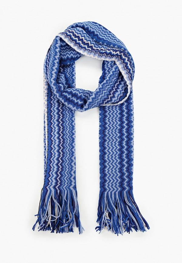 женский шарф missoni, синий