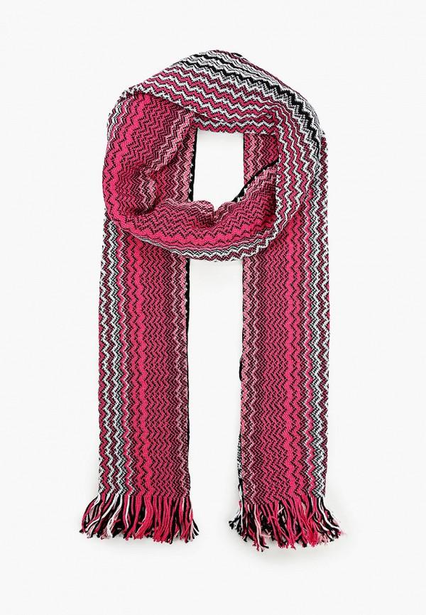 женский шарф missoni, розовый