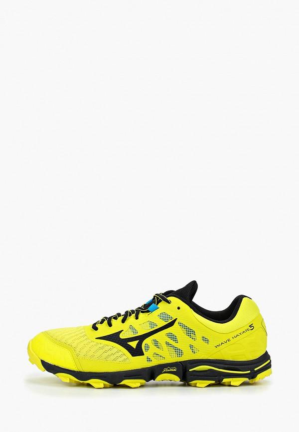 мужские кроссовки mizuno, желтые