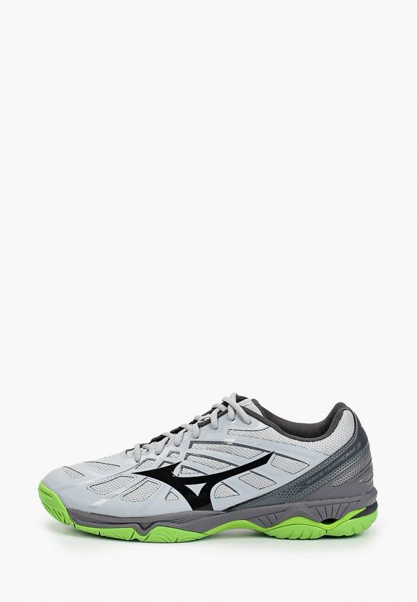 мужские низкие кроссовки mizuno, серые