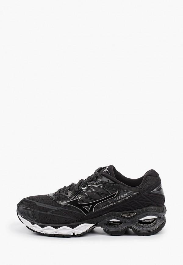 мужские низкие кроссовки mizuno, черные