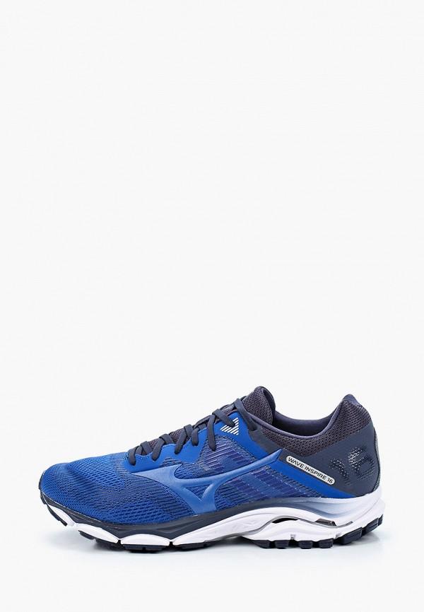 мужские низкие кроссовки mizuno, синие