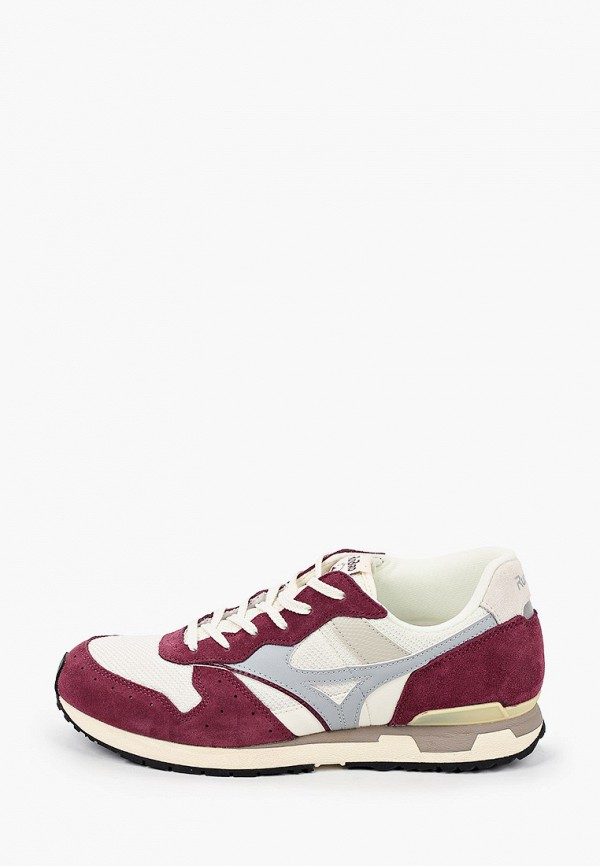 мужские кроссовки mizuno, бордовые