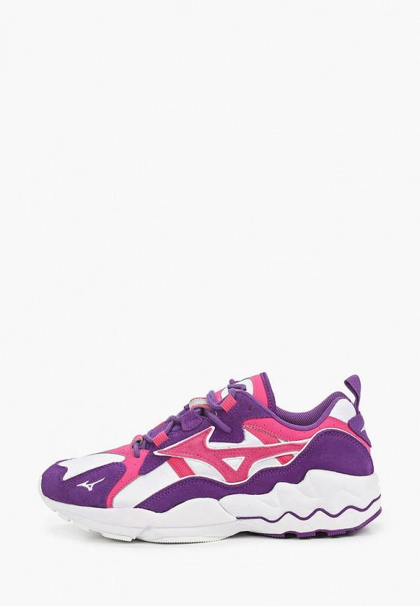 мужские кроссовки mizuno, фиолетовые
