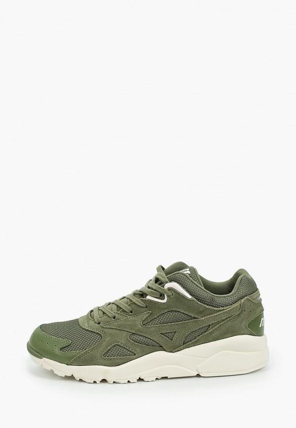 мужские кроссовки mizuno, зеленые