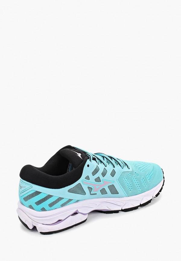 Фото 3 - женские кроссовки Mizuno голубого цвета