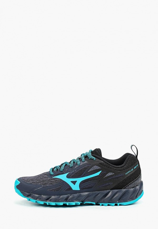 женские кроссовки mizuno, синие