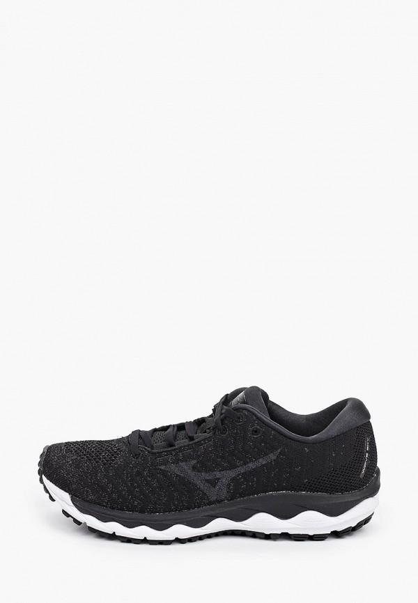 женские кроссовки mizuno, черные