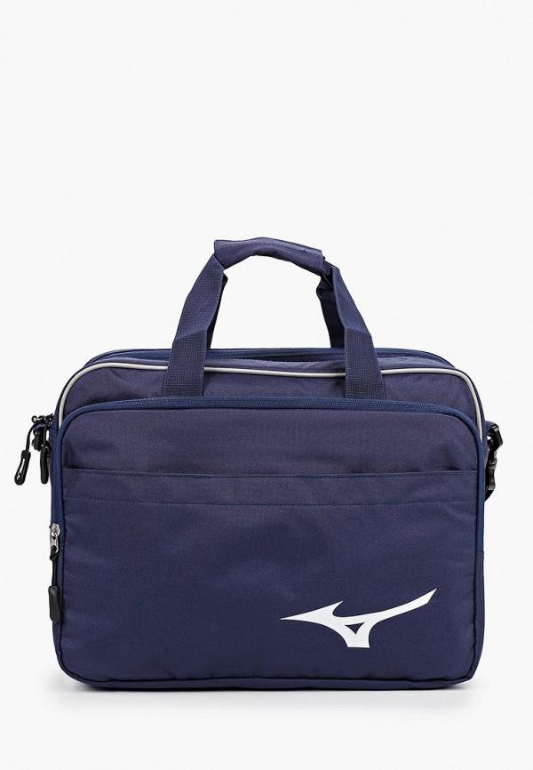 женская сумка mizuno, синяя