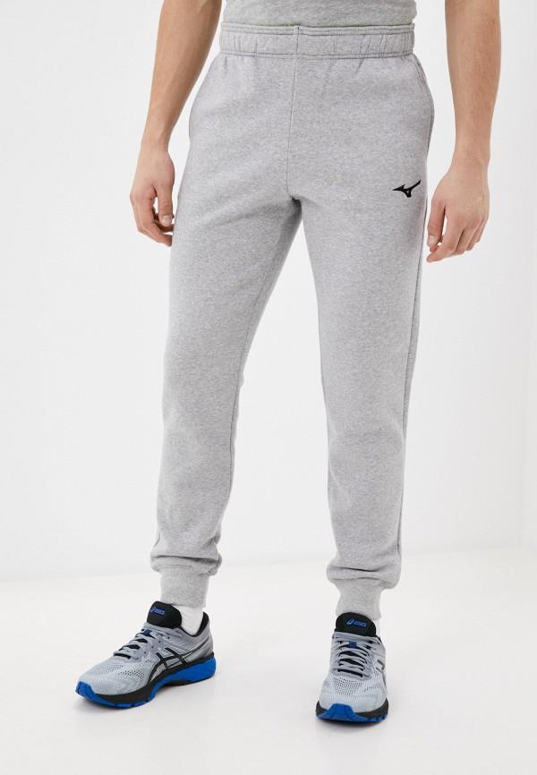мужские спортивные брюки mizuno, серые