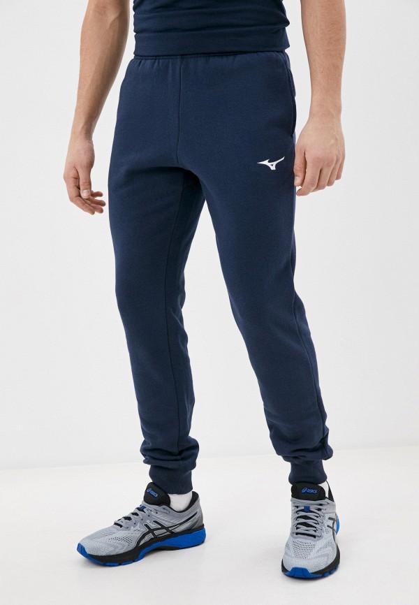 мужские спортивные брюки mizuno, синие
