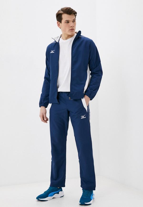мужской спортивный костюм mizuno, синий