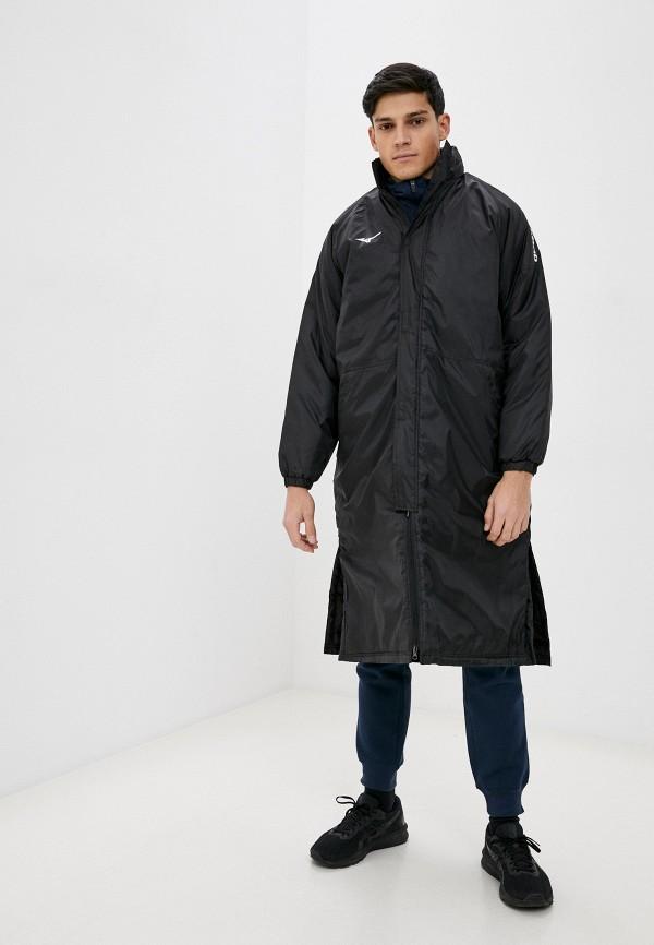 мужская куртка mizuno, черная