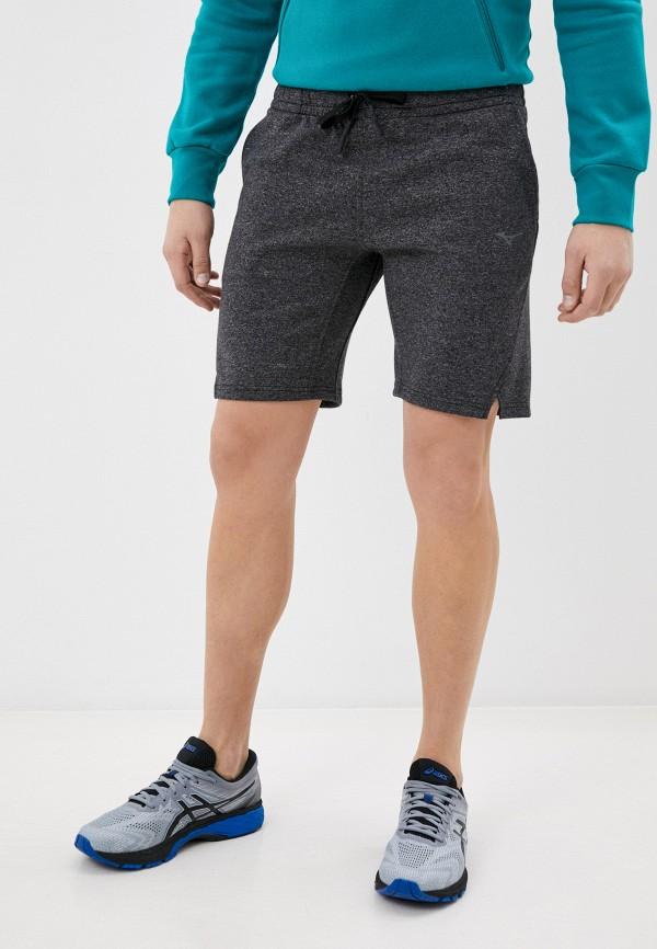 мужские спортивные шорты mizuno, серые
