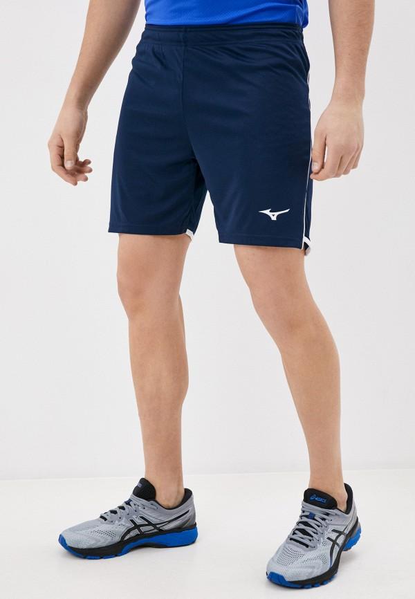 мужские спортивные шорты mizuno, синие