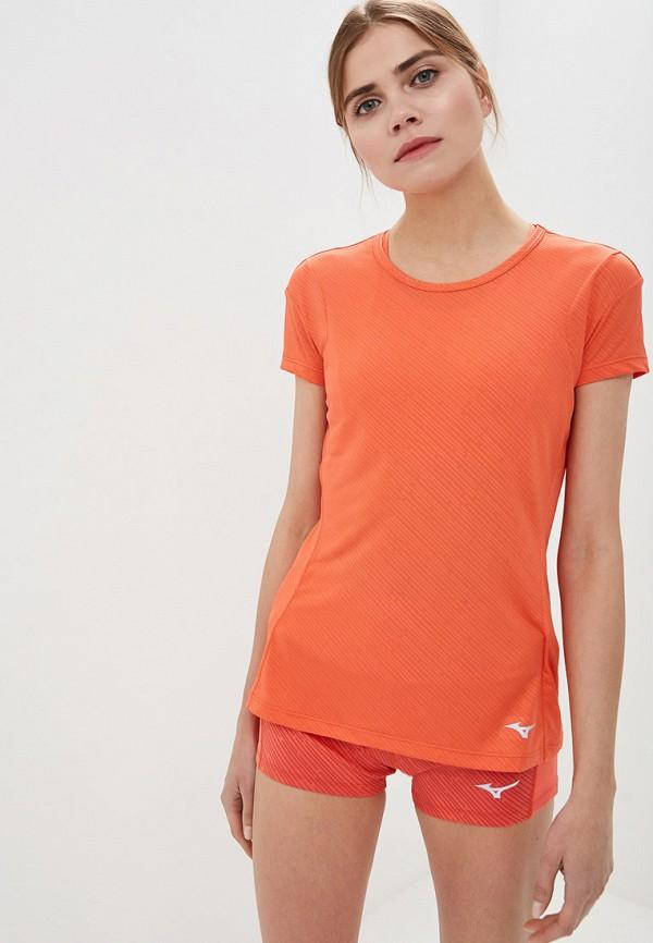 женская спортивные футболка mizuno