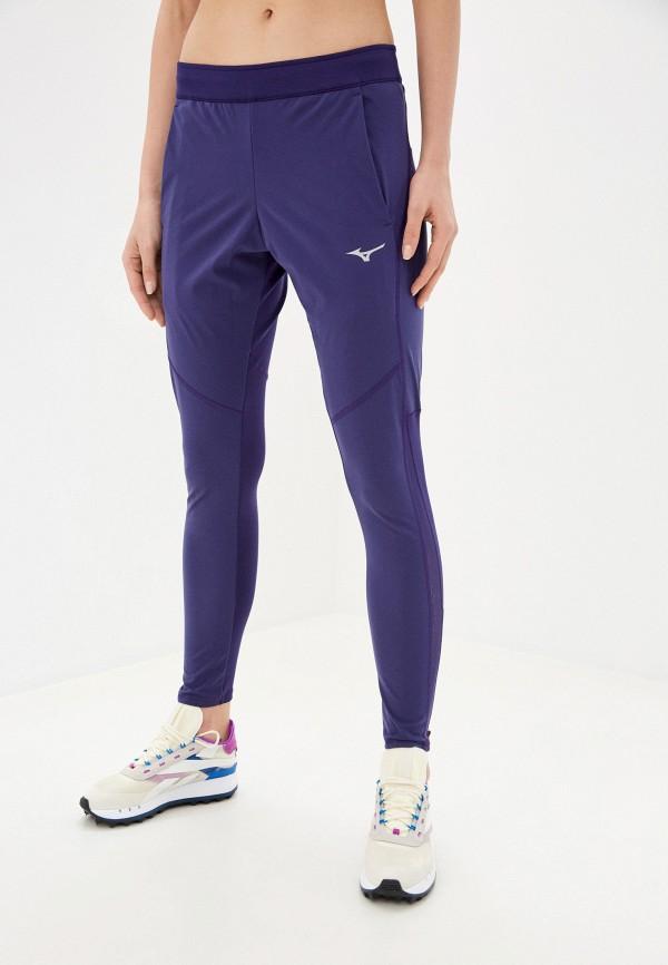 женские спортивные брюки mizuno, фиолетовые
