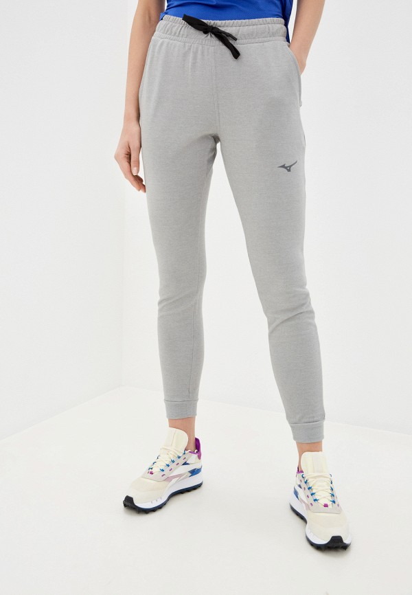 женские спортивные брюки mizuno, серые