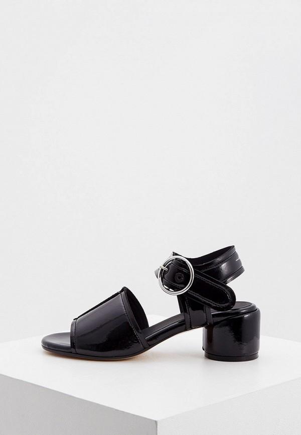 женские босоножки mm6 maison margiela, черные
