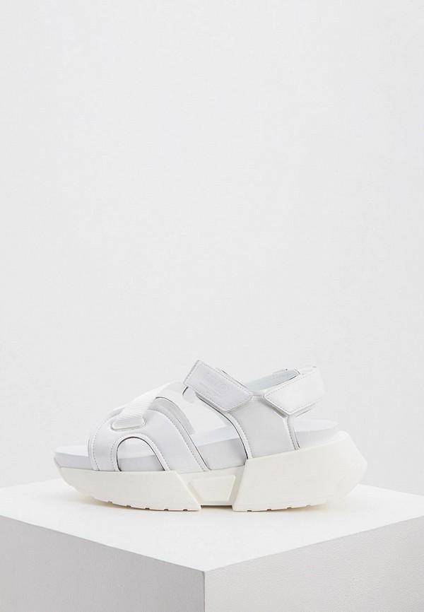 женские сандалии mm6 maison margiela, белые
