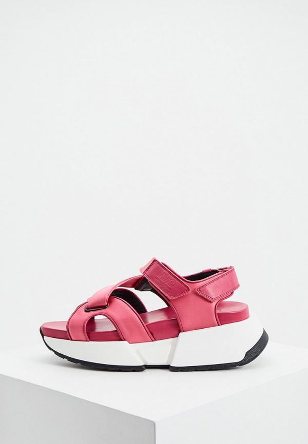 женские сандалии mm6 maison margiela, розовые