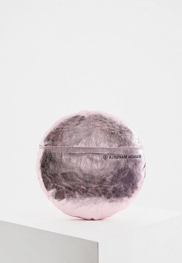 женский клатч mm6 maison margiela, розовый
