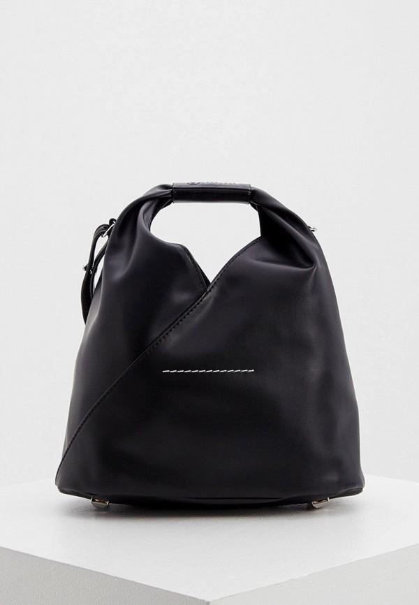 женская сумка mm6 maison margiela, черная