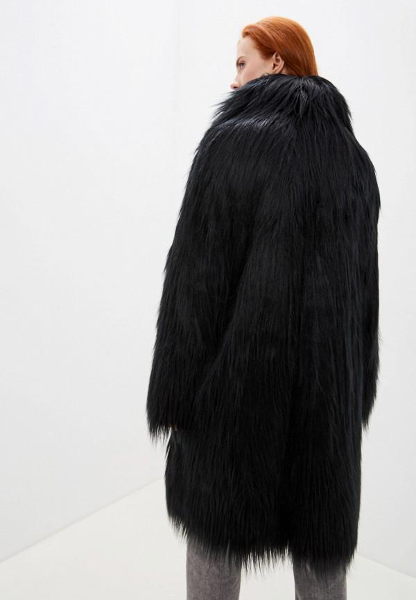 Фото 3 - женскую дублёнку или шубу MM6 Maison Margiela черного цвета