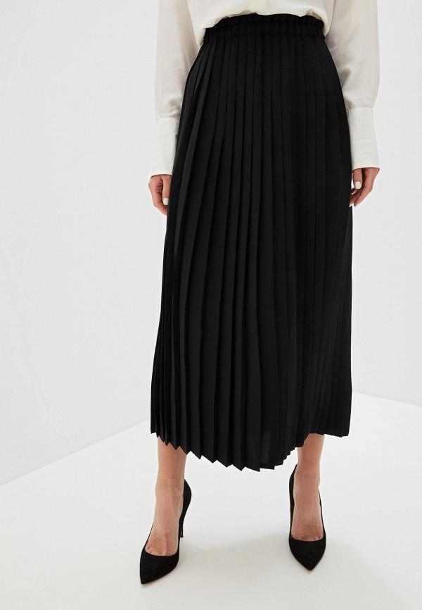 женская юбка mm6 maison margiela, черная