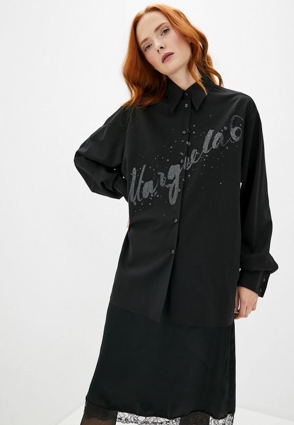 женский костюм mm6 maison margiela, черный