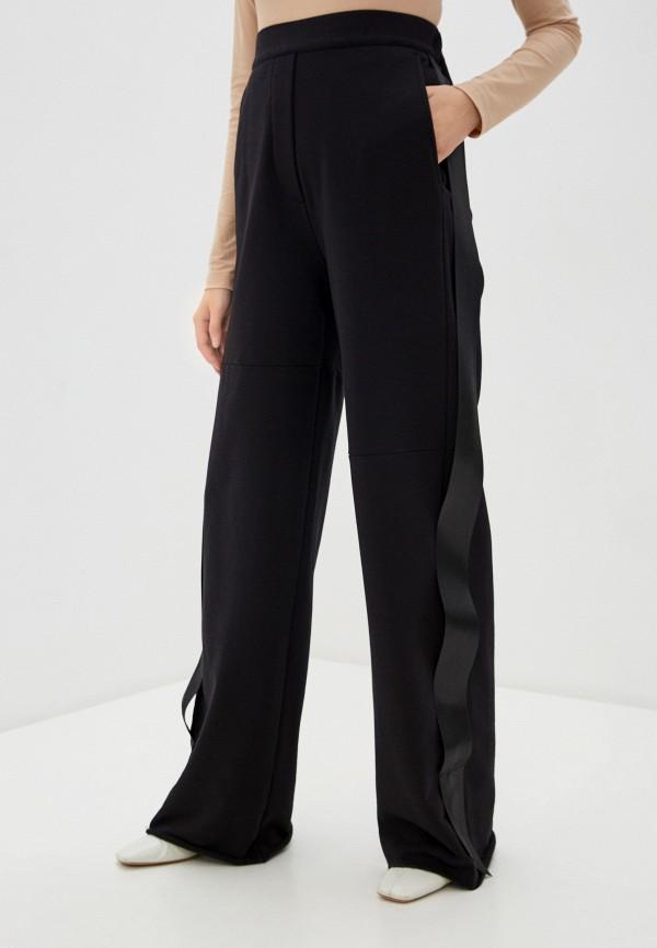 женские повседневные брюки mm6 maison margiela, черные