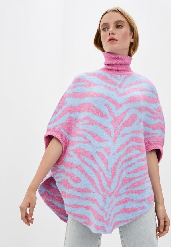 женский свитер mm6 maison margiela, разноцветный