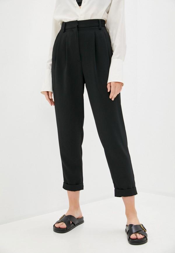 женские классические брюки mm6 maison margiela, черные