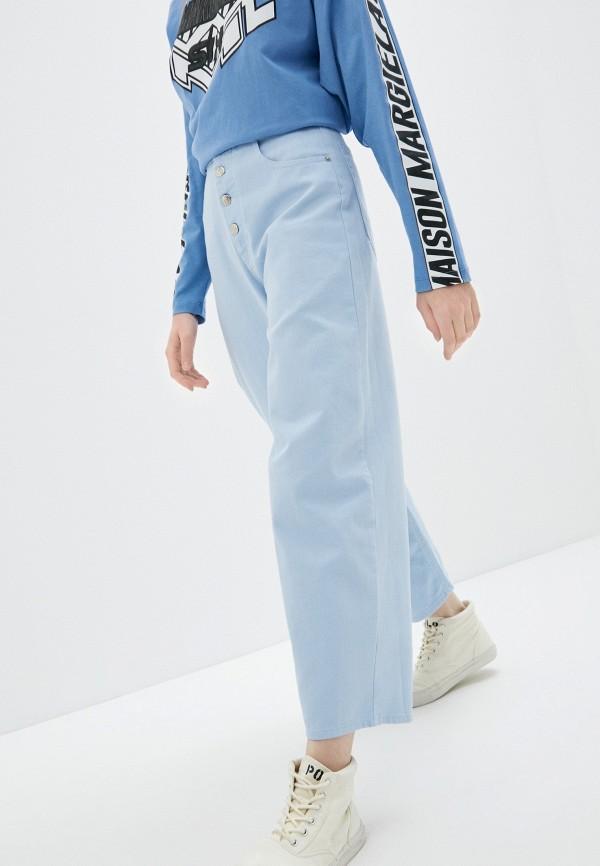 женские джинсы mm6 maison margiela, голубые