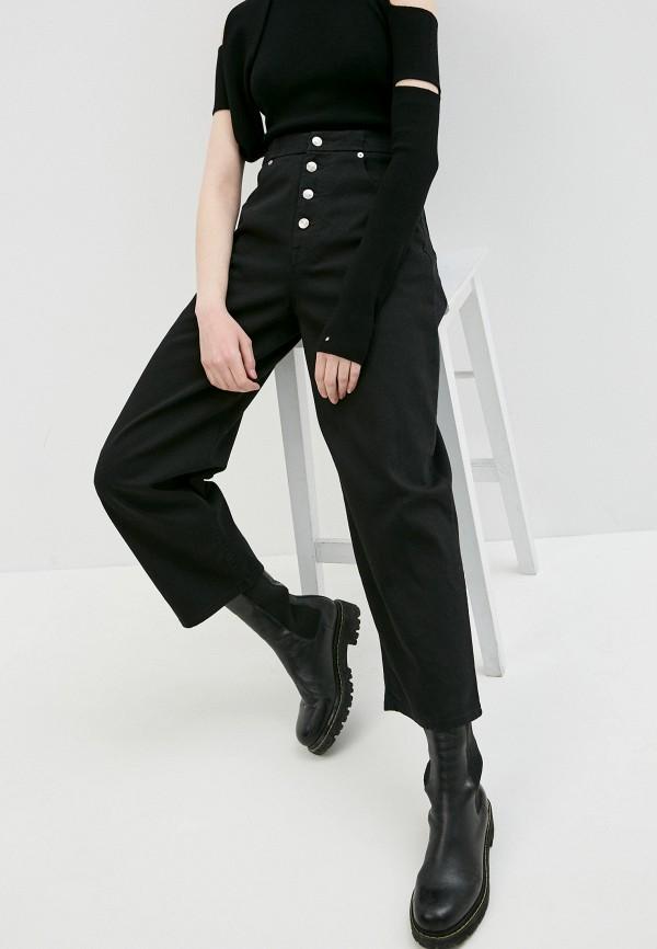 женские джинсы mm6 maison margiela, черные