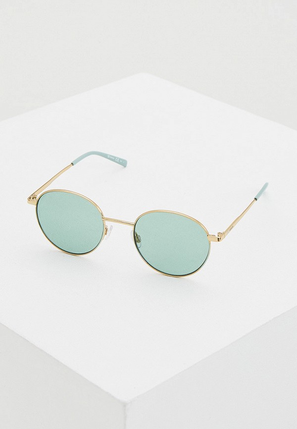 женские солнцезащитные очки m missoni, золотые