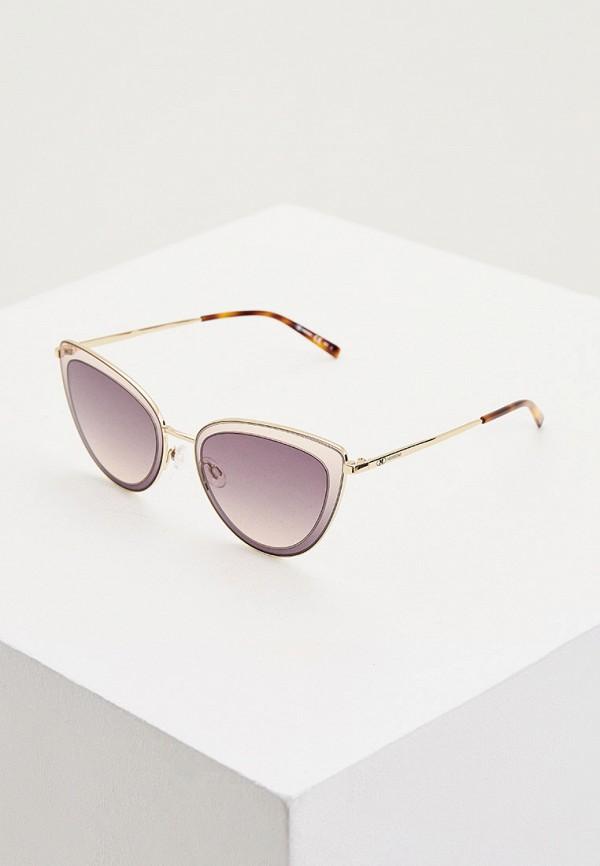женские солнцезащитные очки m missoni, серебряные