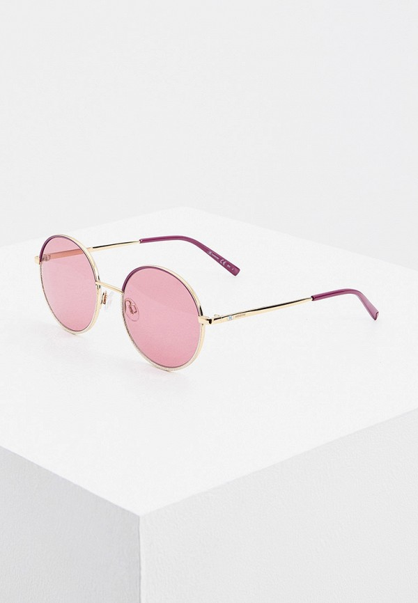 женские круглые солнцезащитные очки m missoni, разноцветные
