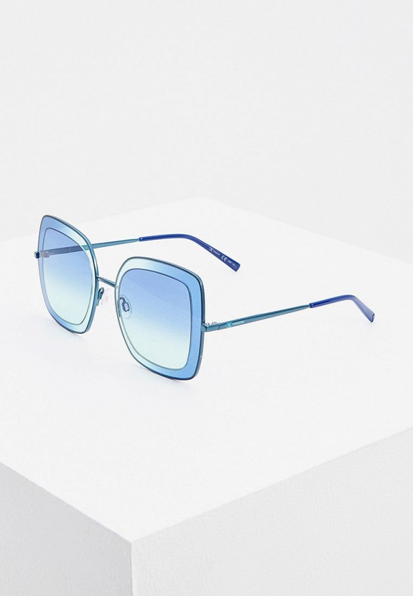 женские солнцезащитные очки m missoni, голубые