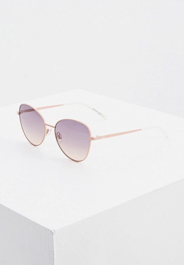женские солнцезащитные очки m missoni, розовые