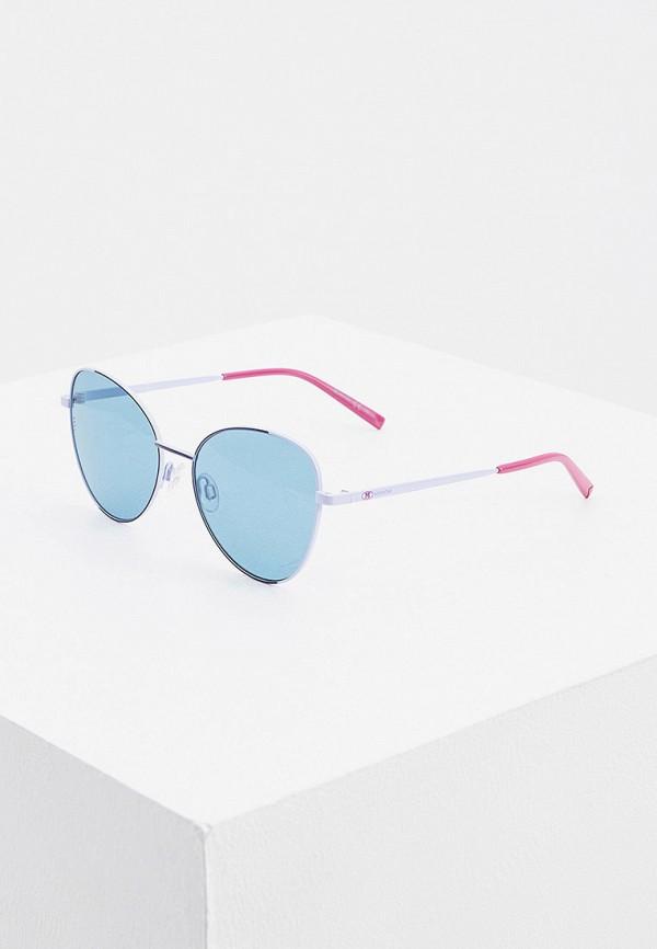 женские солнцезащитные очки m missoni, фиолетовые