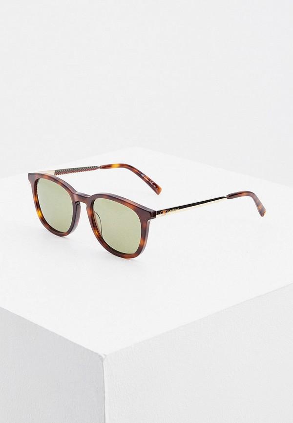 женские солнцезащитные очки m missoni, коричневые