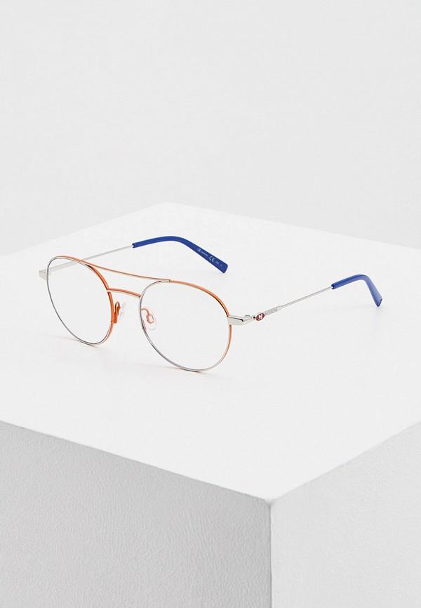 женские круглые солнцезащитные очки m missoni, оранжевые