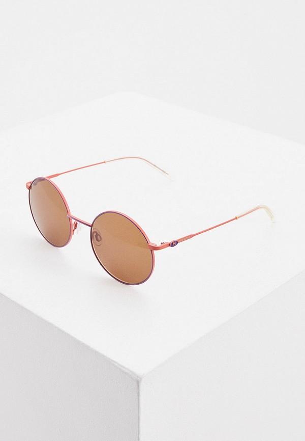 женские круглые солнцезащитные очки m missoni, розовые
